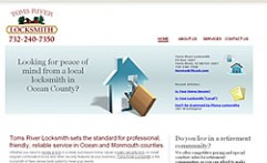 Copywriter Toms River Locksmith Web Site