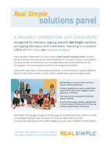 Solutions Panel - Real Simple