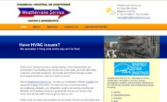 Copywriter Weathervane HVAC Web Site